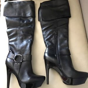 Jessica Simpson Leather Boots